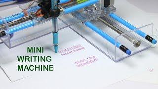 How To Make Mini Homework Writing Machine at Home