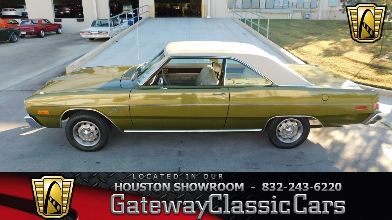 Dodge Dart Stock Gateway Classic Cars Houston Showroom