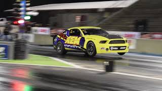 JPC Coyote Powered Mustang Makes A 6 Second Pass !