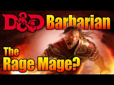D&D Barbarian 5E - Things You Can do While you Rage - YouTube