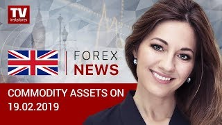InstaForex tv news: 19.02.2019: Traders refrain from buying oil (BRENT, WTI, USD/CAD, USD/RUB)