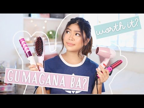 Cheap LAZADA Hair Tools (HONEST REVIEW!!!) | Janina Vela