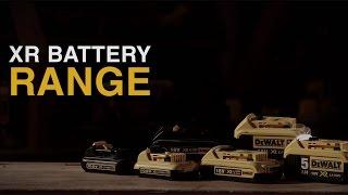 XR Lithium Ion Battery Range From DEWALT