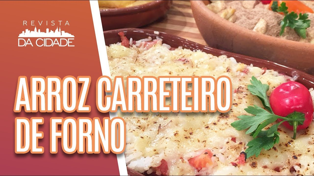 Arroz Carreteiro de Forno Gratinado — TV Gazeta