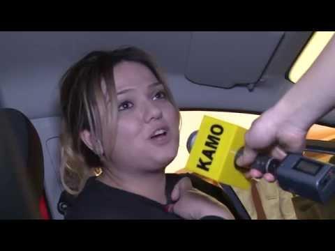 Ford Fiesta մակնիշի ավտոմեքենայի խաղարկությունը Դալմա Գարդեն Մոլ-ում