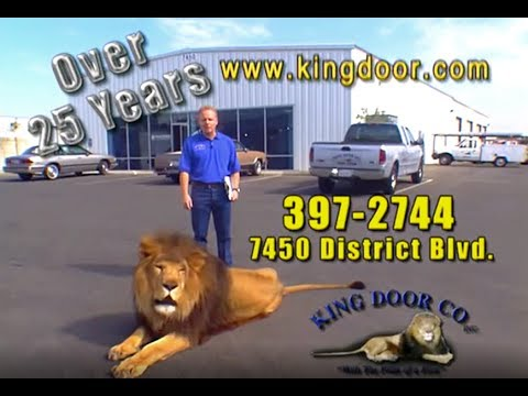 King Door Co., Inc. Bakersfield Garage Door Repair