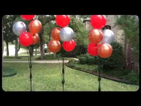 Balloons on a stick youtube