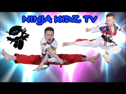 Ninja Kidz ULTIMATE Black Belt Test!