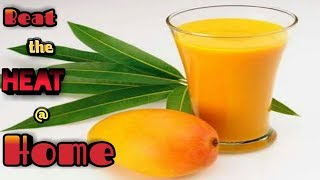 Simple mango juice!! Under 30 rs!! Budget cooking!!