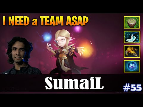 SumaiL - Invoker MID | I NEED A TEAM ASAP | Dota 2 Pro MMR Gameplay #55