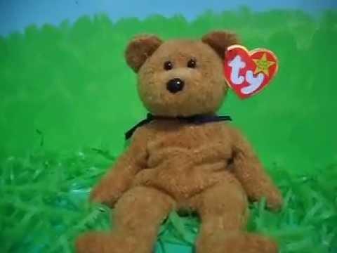 459acd6d3cf Ty Beanie Baby FUZZ (1999) - YouTube