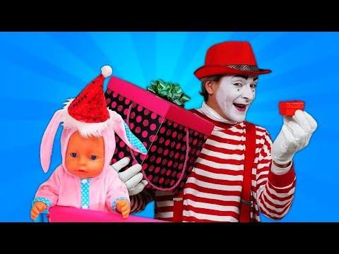 Большая коробка с подарками для Беби Бон и Мима - Что в коробке? Мультики для детей