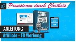 Affiliate Provisionen mit Chatbots + FB Werbeanzeige Anleitung Instagram Stories