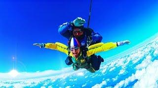 Прыжок с парашютом в Skycenter DZ Пущино (Москва) Тандем. Высота 4000 метров