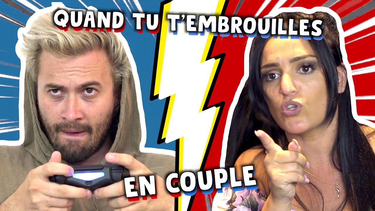 LES EMBROUILLES DE COUPLE  - NINO ARIAL ( Feat ISABELLE ARNAUD)