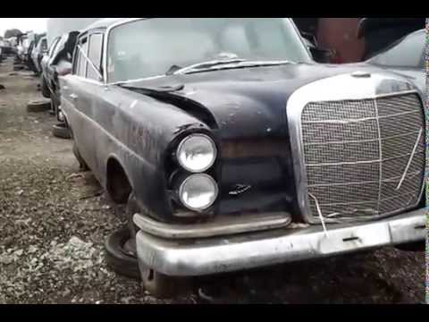 Junkyard Find: 1960 Mercedes 220   YouTube