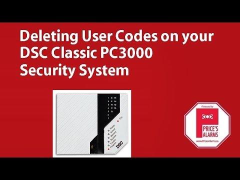 dsc pc 3000 programming manual