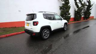 2015 Jeep Renegade Latitude | Alpine White | FPC27646 | Redmond | Seattle |