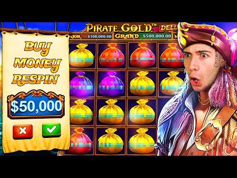 CRAZY $50,000 PIRATES GOLD DELUXE BONUS BUY 🏴☠️ @JuicyFruityyy
