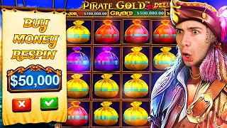 CRAZY $50,000 PIRATES GOLD DELUXE BONUS BUY 🏴‍☠️ ft. @Foss  & JuicyFruityyy