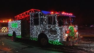 2016 Nesconset,NY Fire Department Santa Claus Parade  12/17/16