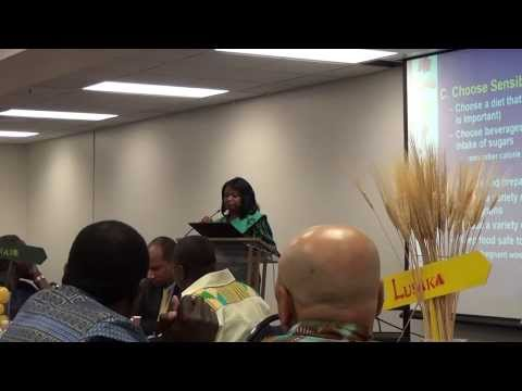 Afrika Together -  Dr. Lorraine Weatherspoon speech on 'Acculturation, Health and Wellness'
