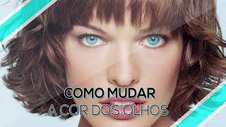 PHOTOSHOP CS6 - Como Mudar a Cor Dos Olhos