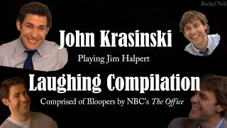 John Krasinski/Jim Halpert Laughing Compilation