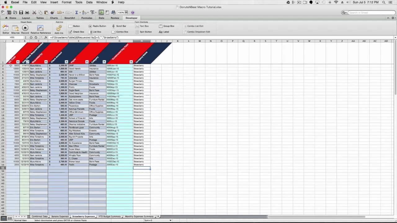 worksheet Combine Worksheets In Excel combining similar data from multiple excel sheets for mac 2011 youtube