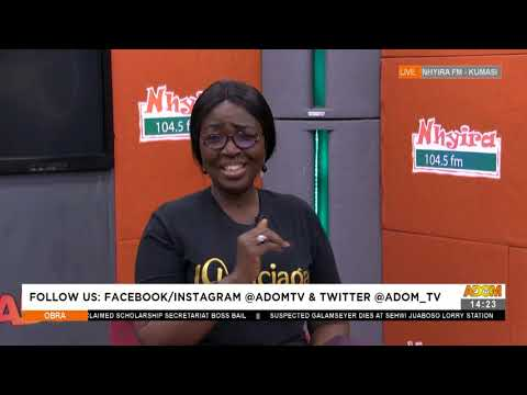He has Neglected His Two Children while Claiming for a Land I solely paid for - Adom TV (21-7-21)