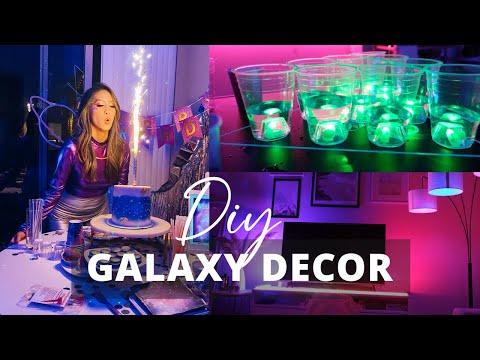 DIY Galaxy Themed Party | Designing My 30th Birthday Celebration