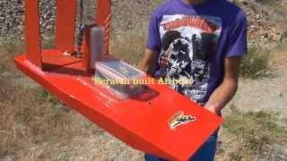 Scratch Built Airboat V3