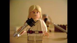 The Saga Begins Lego Music Video