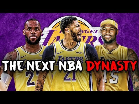 What If Anthony Davis Is Traded To The Lakers? | NBA 2K19 Rebuild