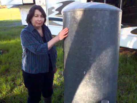 Waterlogged Galvanized Tank Youtube