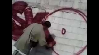 GraffitiWorldVideos #2 : graff monterrey. Naro-Ezko