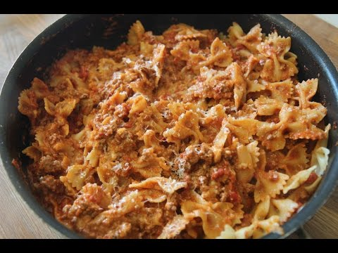 Spicy Bow Tie Pasta - Cooked By Julie Episode 297