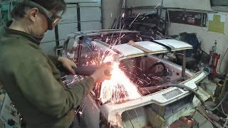 Кузовной ремонт ВАЗ 1111 Ока. Изготовление недостающих элементов.