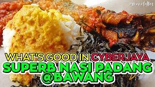 [ omaralattas ] vlog #108-2018: Superb Nasi Padang in Cyberjaya