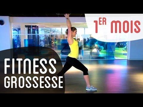 Fitness 1er mois de grossesse - YouTube 34208444ea7