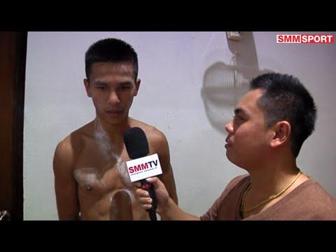 มวยไทยรายวัน ศึกวันทรงชัย คู่รอง พันธ์พยัคฆ์ จิตรเมืองนนท์ vs ก้าวหน้า พีเคแสนชัยมวยไทยยิม