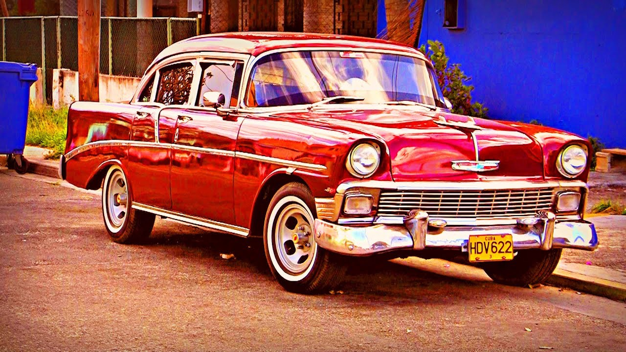 Classic Cars In Cuba Part Free Hd Stock Footage Youtube