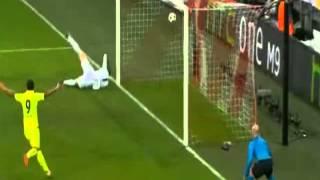 Бавария 1:2 Барселона - Третий гол (Неймар)
