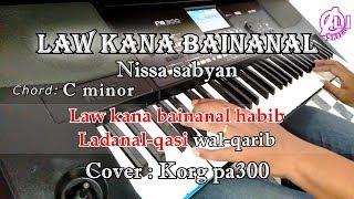 Download Mp3 Law Kana Bainanal Habib - Nissa Sabyan - Karaoke Korg Pa300