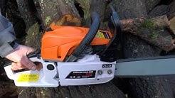 Резачка за дърва, бензинов моторен трион | Rudimpex.com