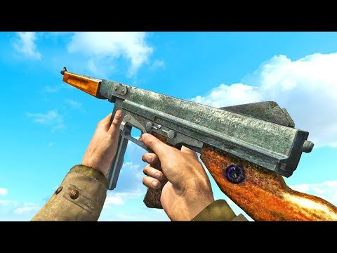 Thompson M1 SMG - Comparison in 30 Different Games