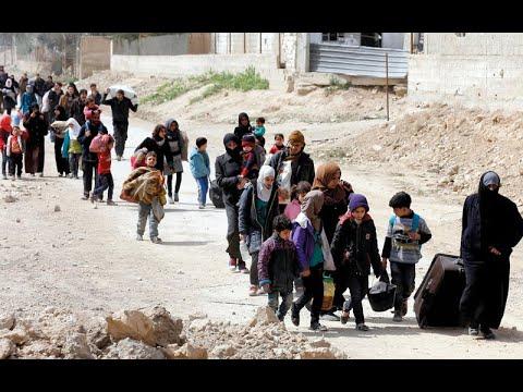 تواصل فرار آلاف السوريين مع تصاعد القتال في الغوطة  - نشر قبل 2 ساعة