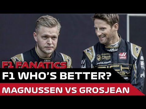 F1 2019 Who's better? Driver Rivalries: Kevin Magnussen vs Romain Grosjean
