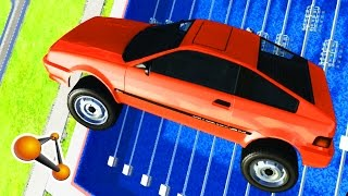 Car Jump Arena  - Diving Tower #3 - BeamNG.drive