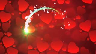 valentine background 12  - HD video background